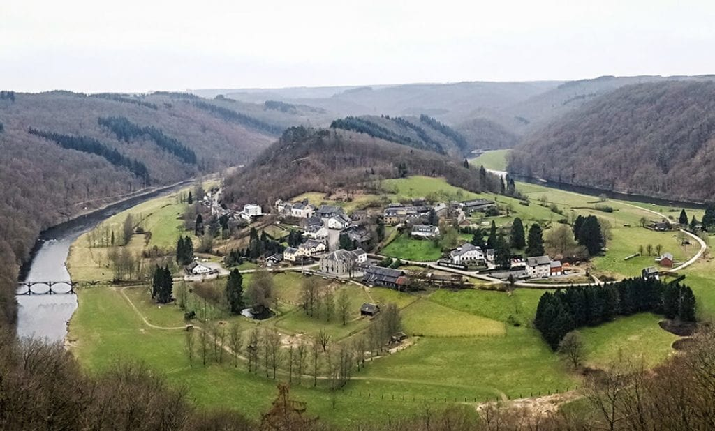 Frahan in de Ardennen
