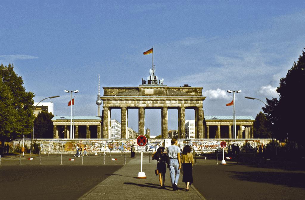 Berlijn Muur Brandenburger Tor