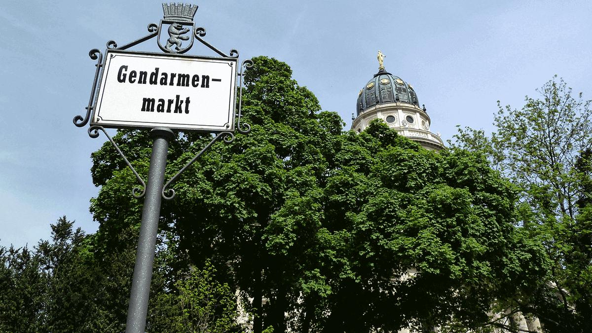 Gendarmenmarkt in Berlijn