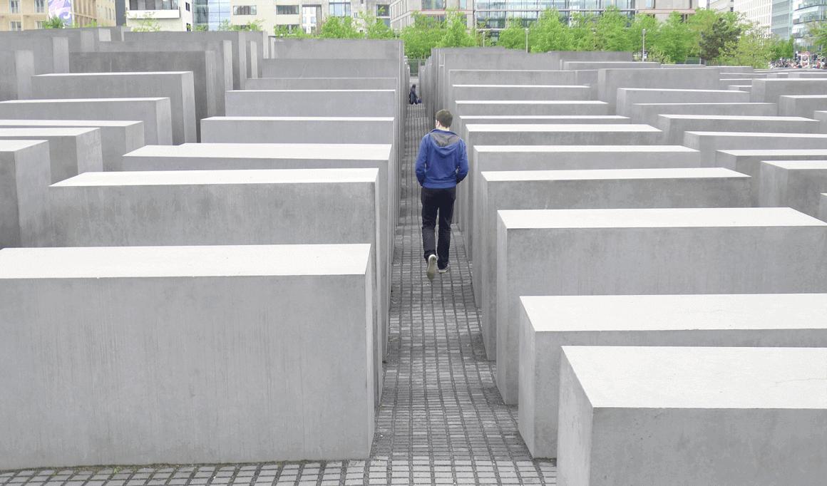 Holocaust Memorial Berlijn Duitsland