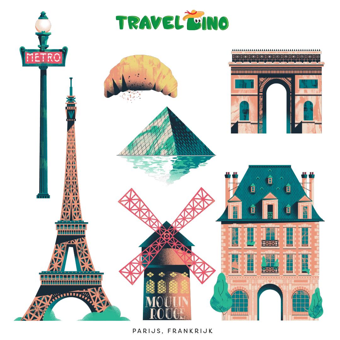 Parijs Frankrijk citytrip