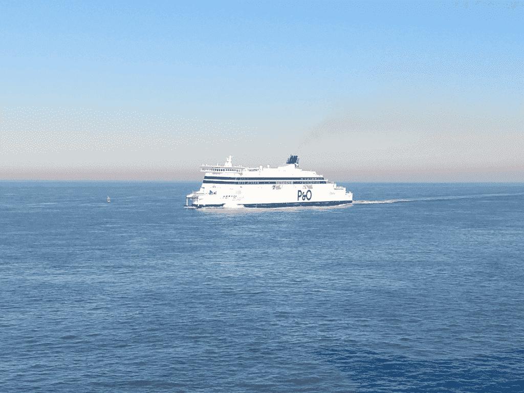 Met de P&O Ferry reizen naar Engeland