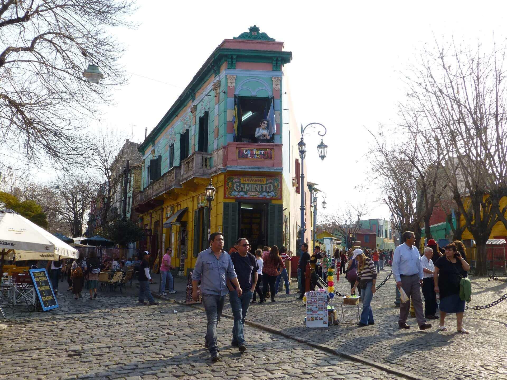 Buenos Aires - Argentinie - La Boca