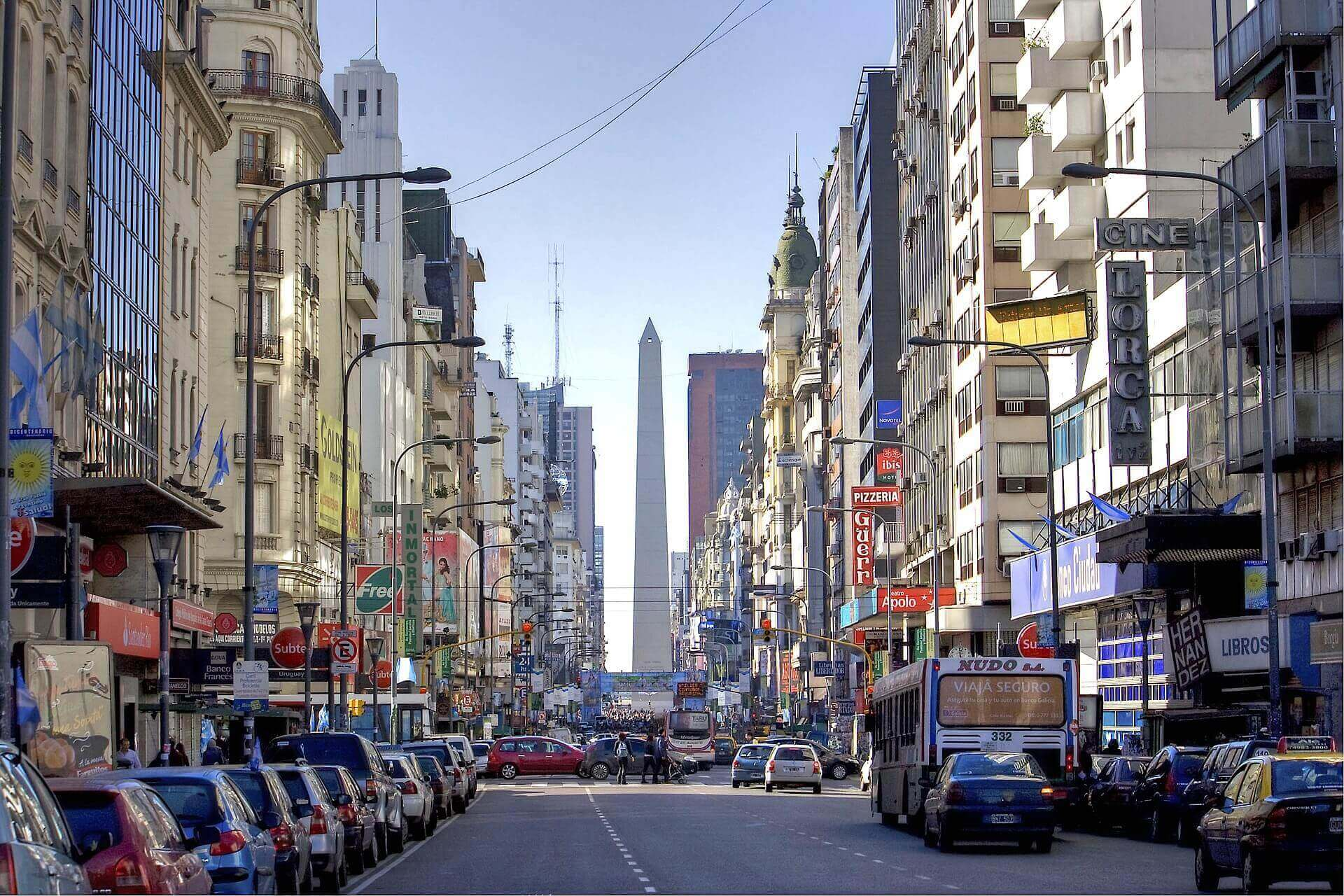 Buenos Aires straatbeeld