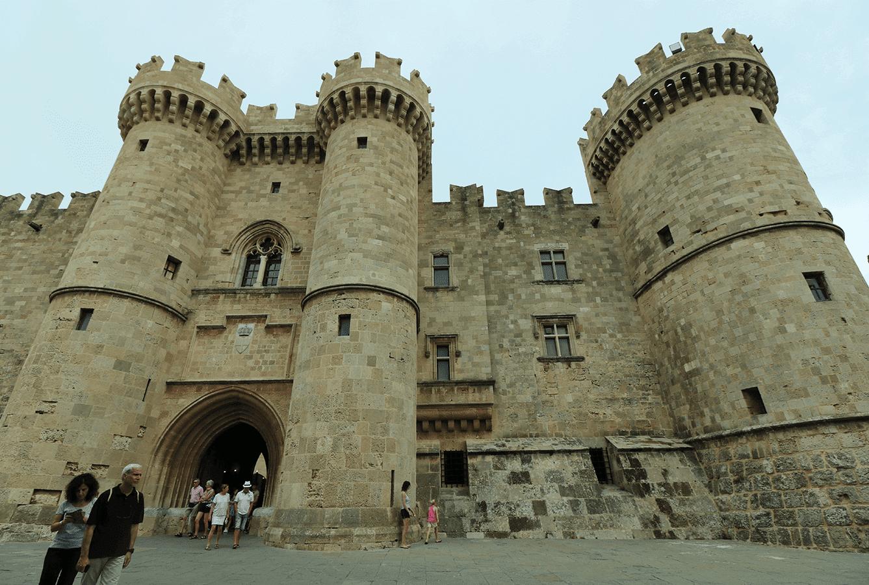 Rhodos kasteel