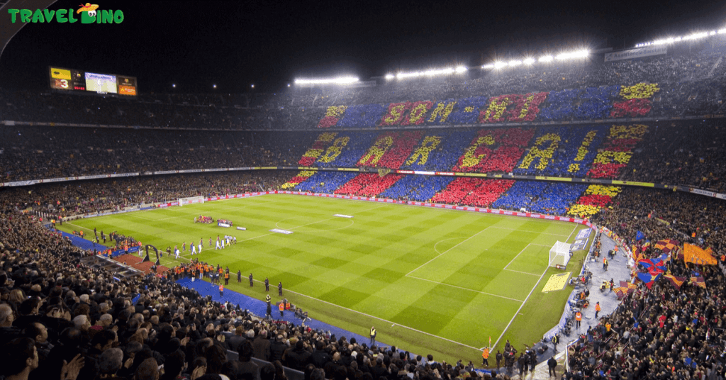 Barcelona voetbalreis