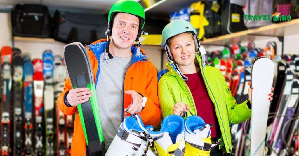 Goedkoop skiën, skimateriaal, ski promoties