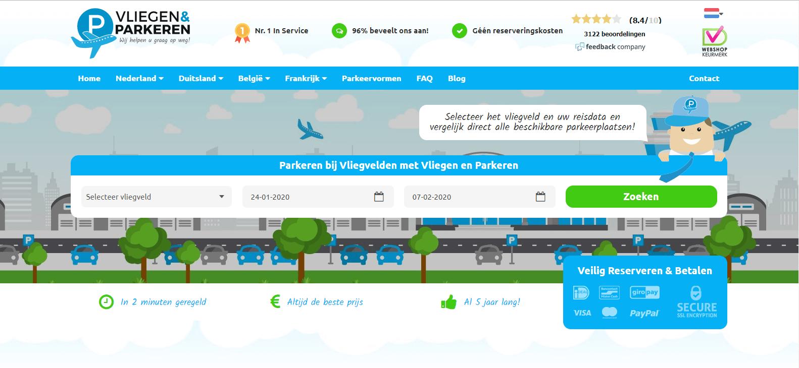 Vliegen en parkeren