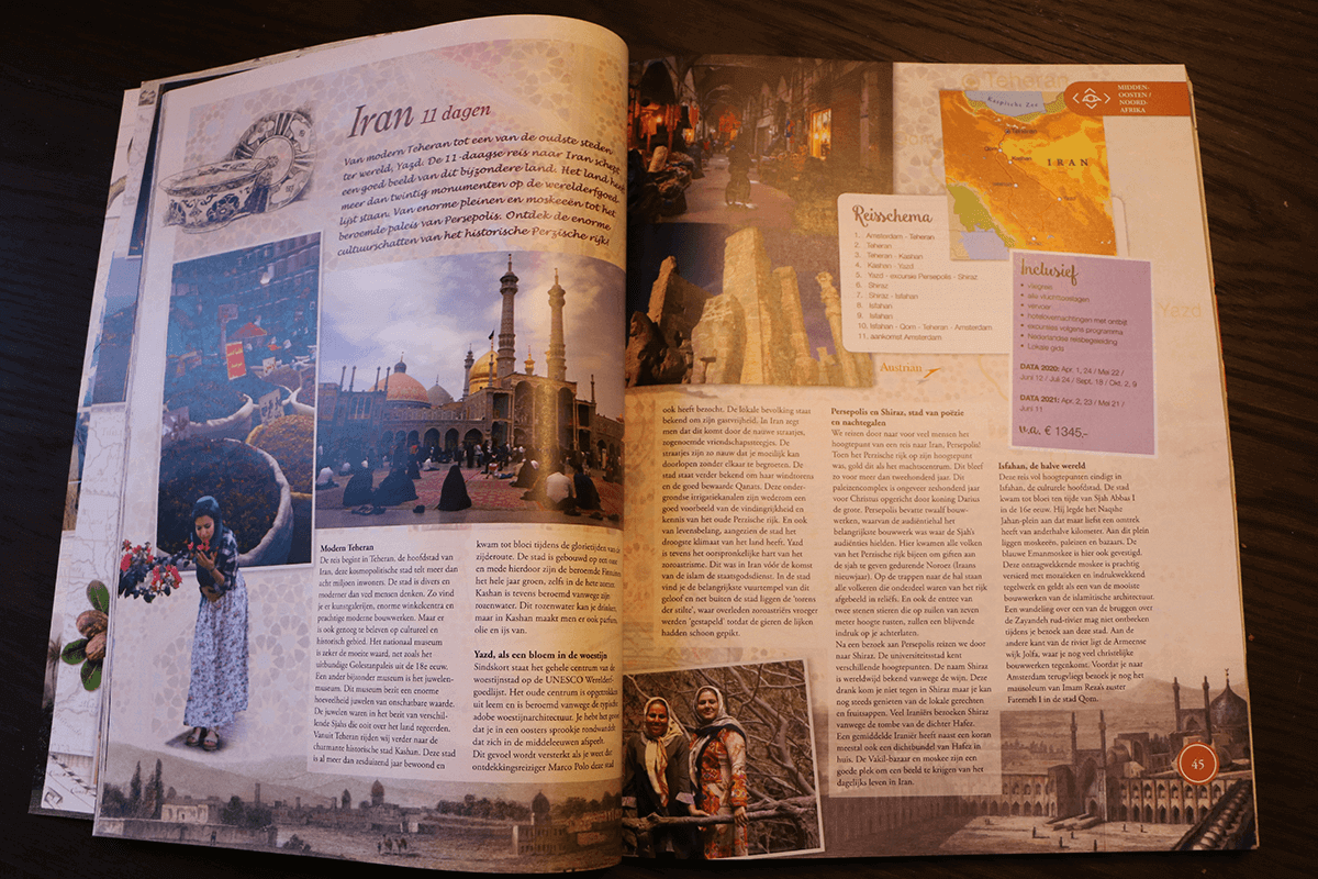 Djoser reisbrochure